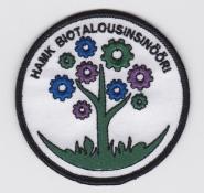 Biotalousinsinööri-haalarimerkki